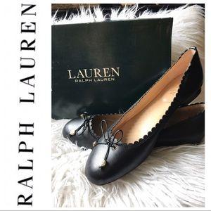 Lauren Ralph Lauren Gennie Ballet Flats ❤️
